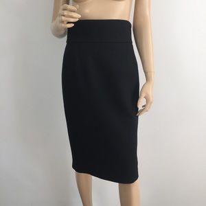 Zara Woman Black Pencil Skirt 10